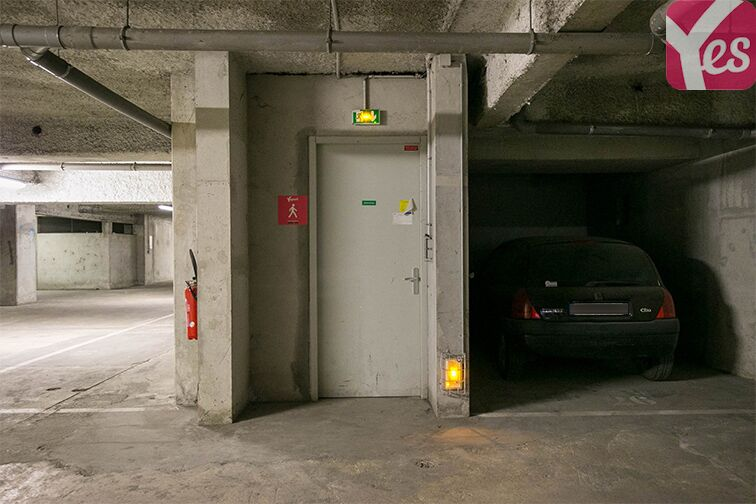 Parking Rue Bruneseau - Paris 13 box