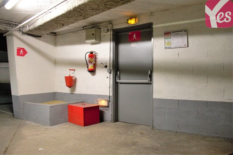 Parking Rougemont Chanteloup - Aulnay-sous-Bois souterrain