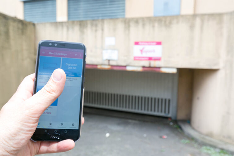 Location parking Rougemont Chanteloup - Aulnay-sous-Bois