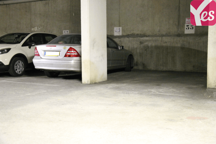 Parking Porte de Versailles caméra