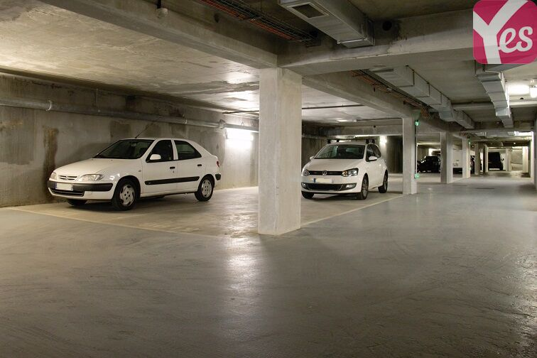Parking Jasmin - Paris souterrain