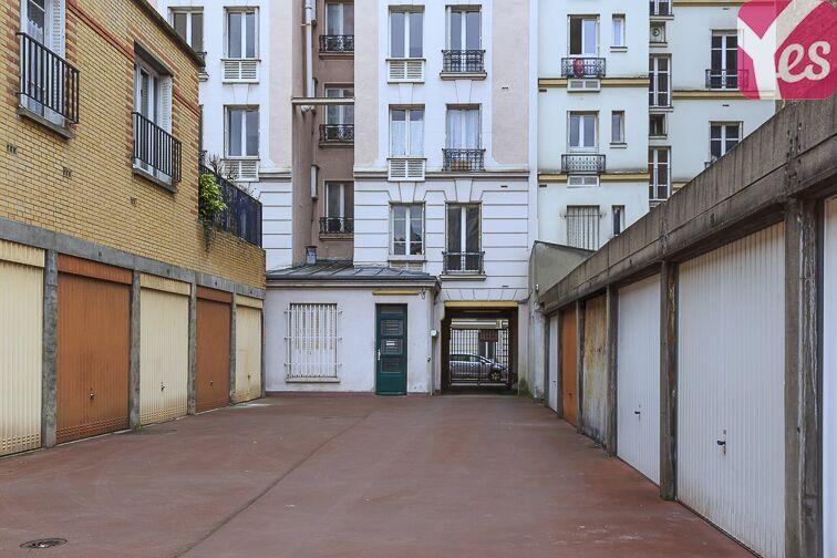 Parking Mairie - Paris 20 caméra