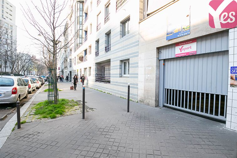 Parking Rue Mathis - Flandres - Paris 19 caméra