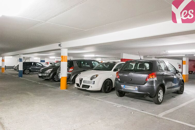 Parking Rue Mathis - Flandres - Paris 19 location mensuelle
