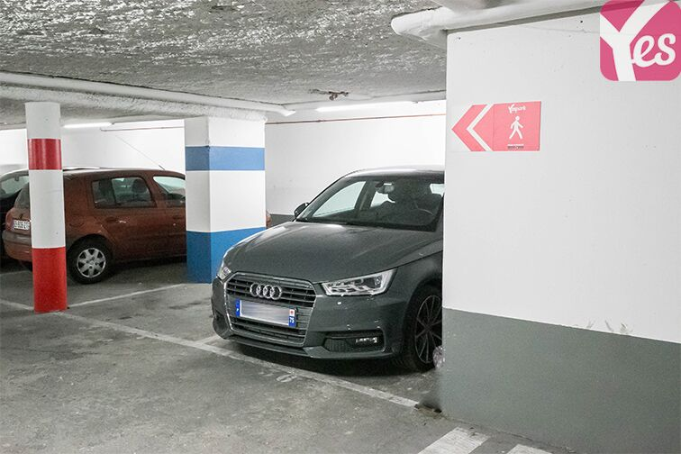 Parking Rue Mathis - Flandres - Paris 19 garage