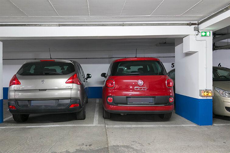 Parking Rue de Belgrand - Métro Porte de Bagnolet - Paris 20 sécurisé