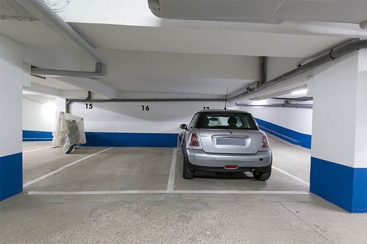 Parking Rue de Belgrand - Métro Porte de Bagnolet - Paris 20 en location