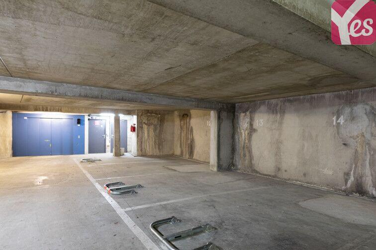 Parking Rue des Rigoles - Belleville - Paris 20 garage