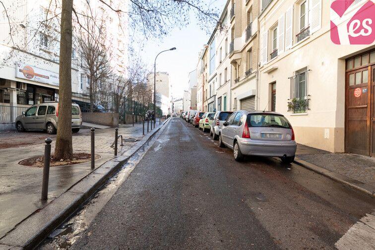 Parking Rue des Rigoles - Belleville - Paris 20 59 rue des Rigoles