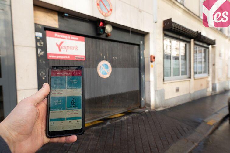 Parking Rue des Rigoles - Belleville - Paris 20 location