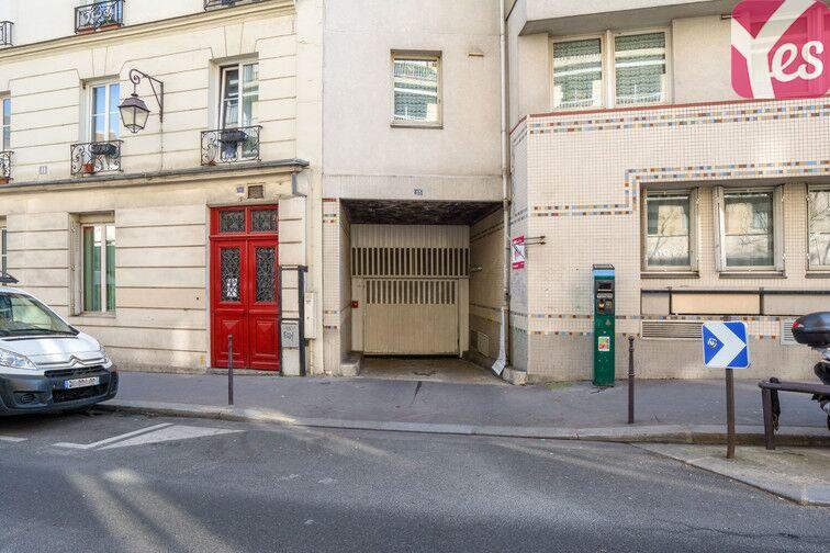 Parking Moulin des Prés - Place d'Italie - Paris 13 garage