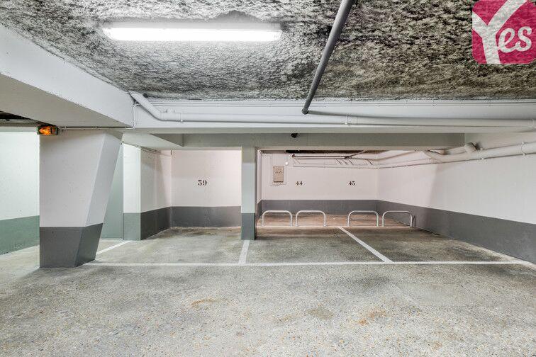 Parking Moulin des Prés - Place d'Italie - Paris 13 souterrain