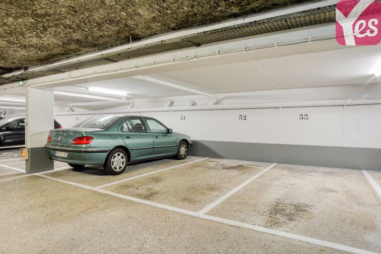 Parking Moulin des Prés - Place d'Italie - Paris 13 caméra