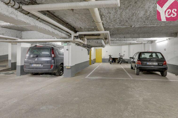 Parking Métro Pelleport - Capitaine Marchal - Paris 20 caméra
