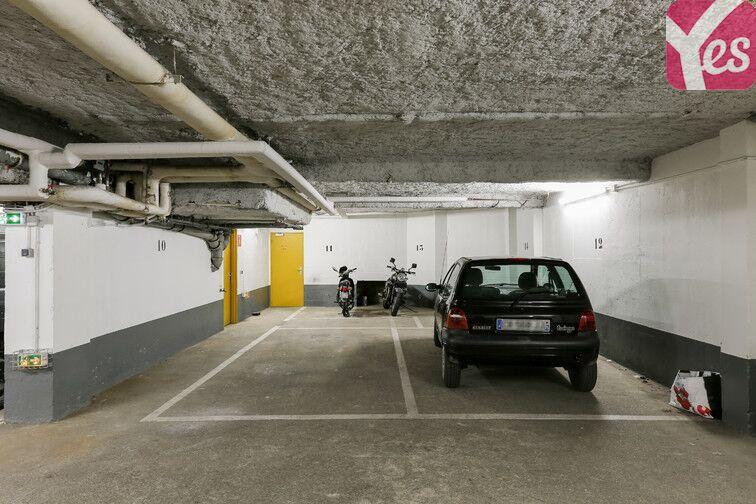 Parking Métro Pelleport - Capitaine Marchal - Paris 20 garage
