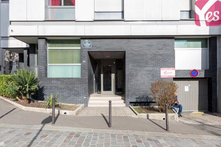 Parking Métro Pelleport - Capitaine Marchal - Paris 20 box