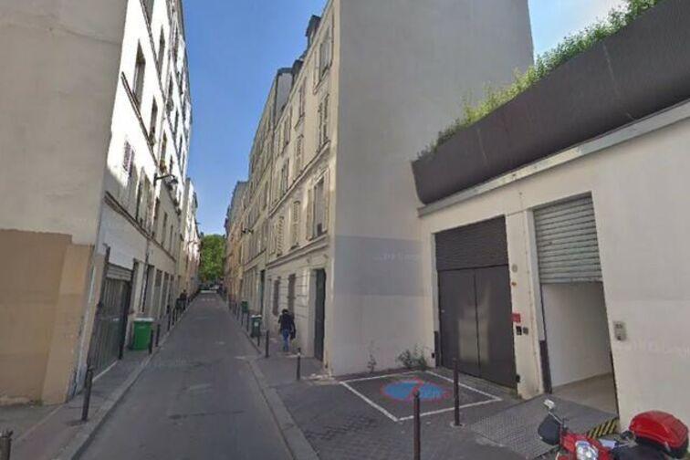 Parking Bataclan - Paris caméra