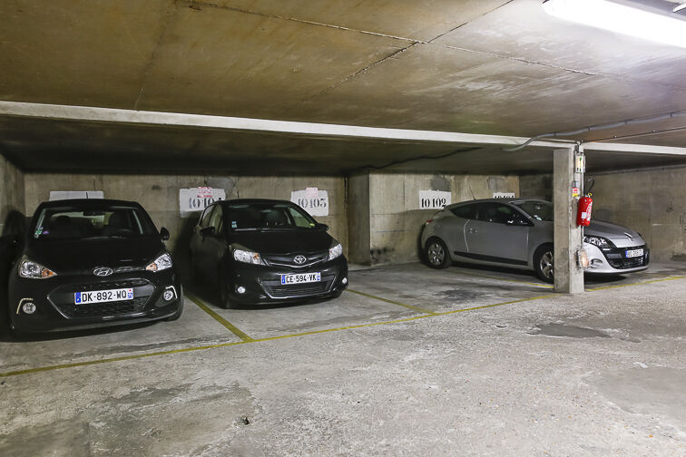 Parking Bibliothèque François Mitterrand - Paris 75013