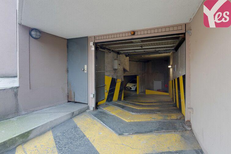 Parking Alésia souterrain