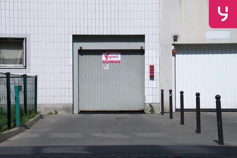 Location parking Rosa Parks - rue de l'Ourcq - Paris