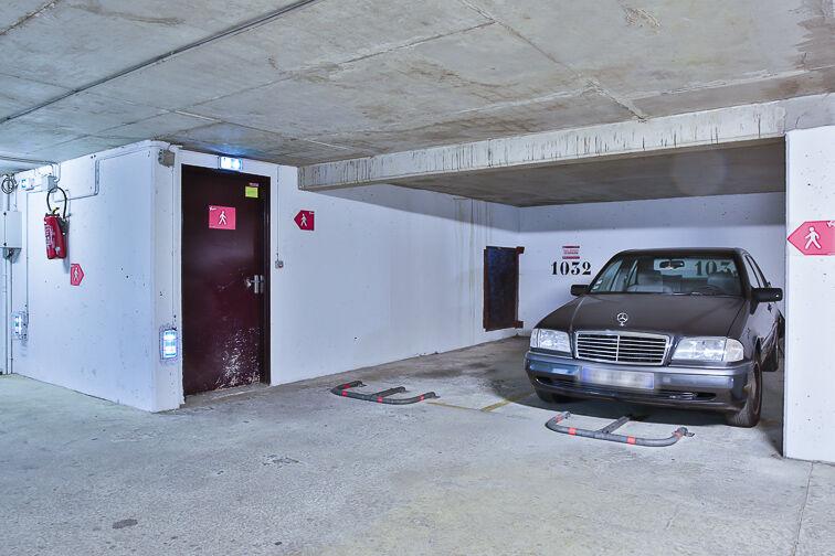 Parking Rosa Parks - rue de l'Ourcq - Paris garage