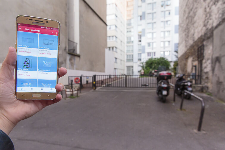 Parking Volontaires - Dutot - Paris gardien