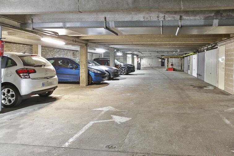 Parking Volontaires - Dutot - Paris caméra