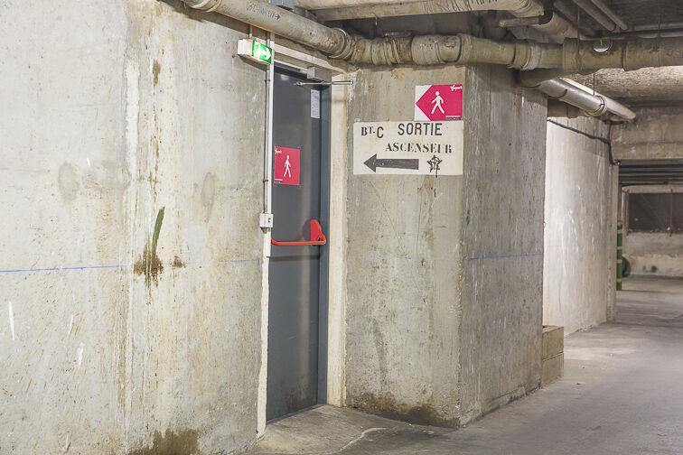 Parking Volontaires - Dutot - Paris 75015