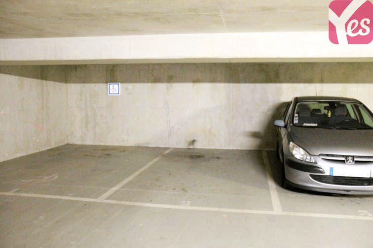 Parking La Défense souterrain