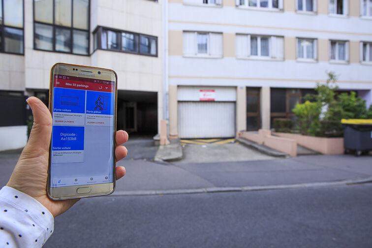 location parking Mairie de Boulogne-Billancourt