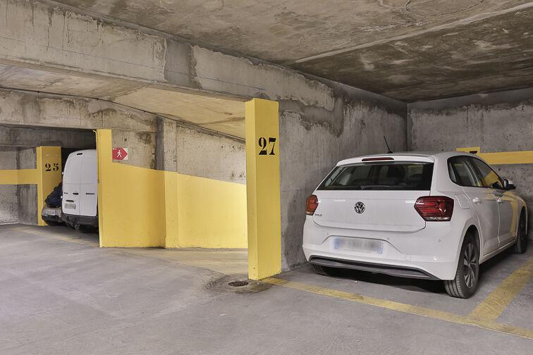 Parking Mairie de Boulogne-Billancourt souterrain
