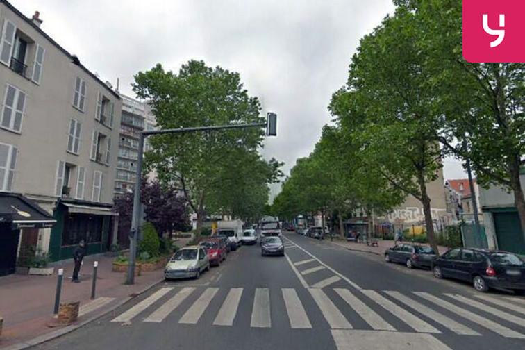 Parking Cimetière Parisien de Saint Ouen - Saint-Ouen-sur-Seine gardien