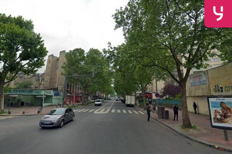 Parking Cimetière Parisien de Saint Ouen - Saint-Ouen-sur-Seine caméra