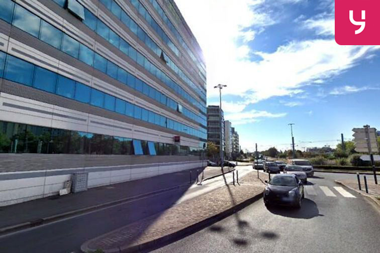 Parking Palais de justice - Bobigny caméra