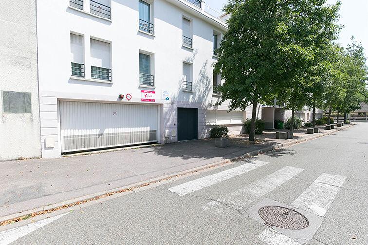 Parking Gare Aubergenville - Elisabethville souterrain