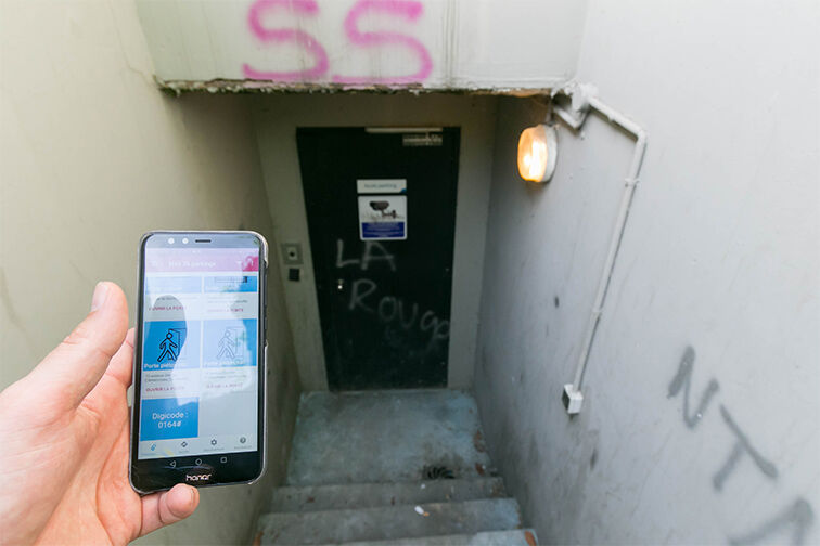 Parking George Clémenceau - La Croix Mallard - Sartrouville location mensuelle