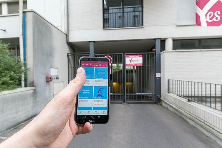 Parking Les Passages - Boulogne-Billancourt location mensuelle