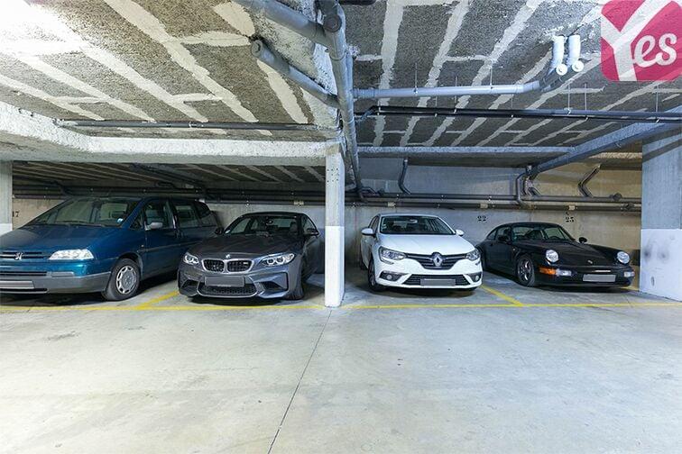Parking Les Passages - Boulogne-Billancourt caméra