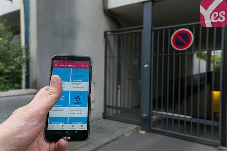Parking Les Passages - Boulogne-Billancourt sécurisé
