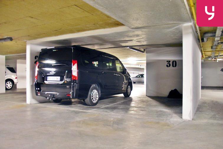 Parking Nanterre - Ville - République avis