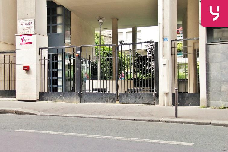 Location parking Porte de Pantin - Hainaut