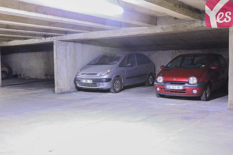 Parking Belleville - Place Marcel Achard caméra