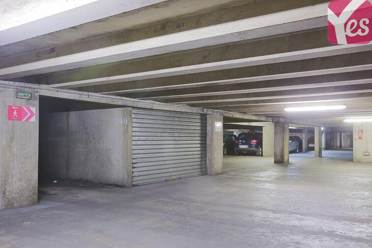 Parking Belleville - Place Marcel Achard souterrain