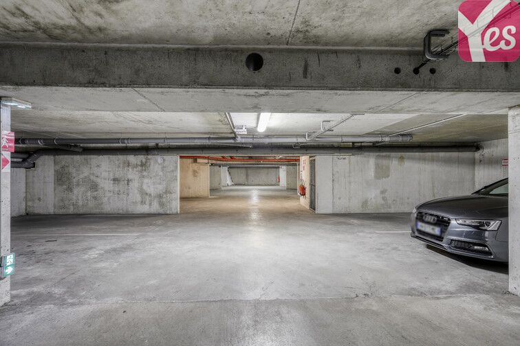Parking Chantiers Navals - Nantes sécurisé