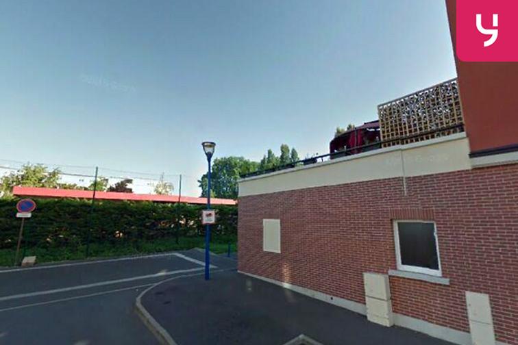 Parking Parc Interdépartemental des Sports de Choisy-le-Roi - (place moto) caméra