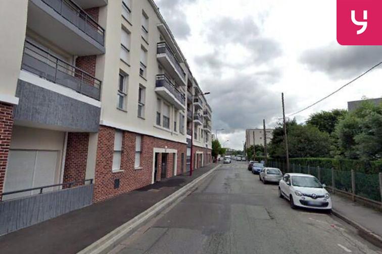 Parking Collège Jean Charcot - Paix - Fresnes - (place moto) gardien
