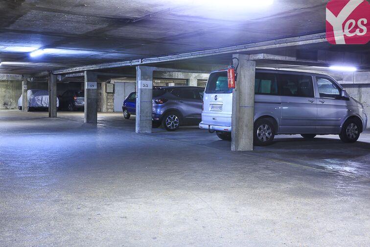Le parking est propre