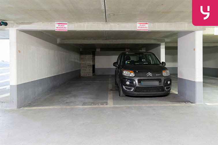 Parking Balard (place double) caméra