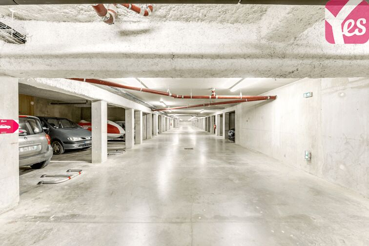 Parking Nantes Erdre sécurisé