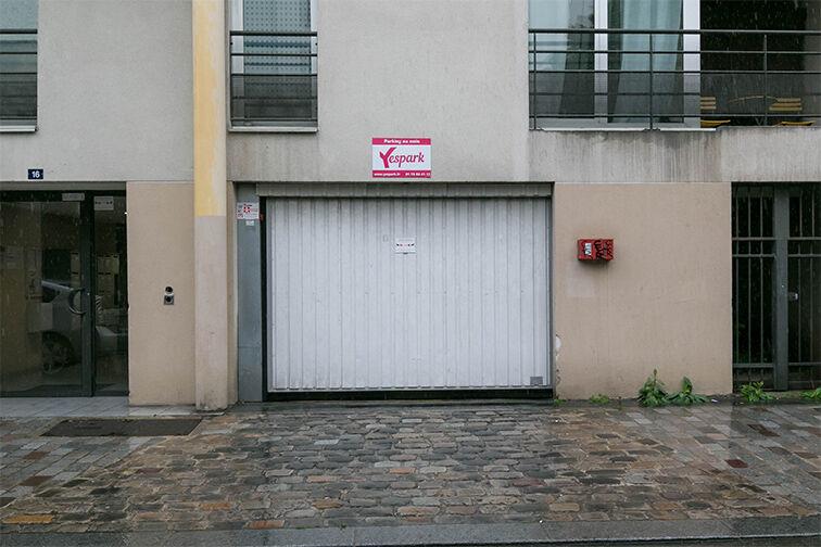 Parking Porte de Vincennes - Paris 12 caméra